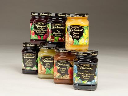 Labeled Jam Food