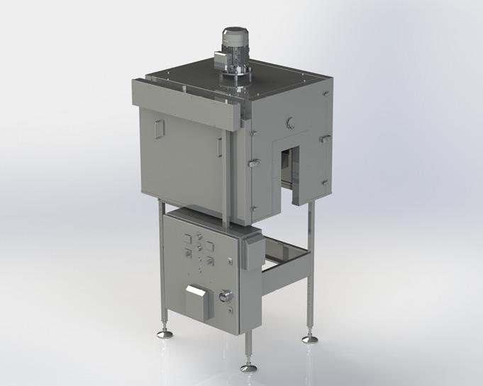 SHRINKMASTER R750 HOT AIR TUNNEL